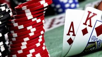 Spelmarker och spelkort